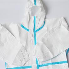 Einweg-Schutzkleidung Chirurgische Schutzkleidung