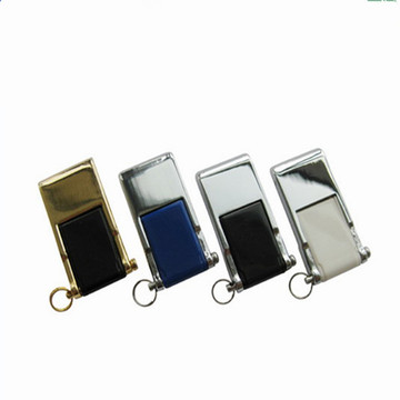 Mini Metal USB Stick Swivel 8gb Pen Drive