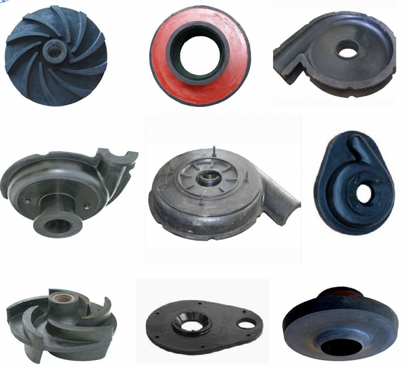 Slurry Pump Rubber Parts
