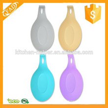 Eco-Friendly preço de fábrica Silicone Spoon Rest Set