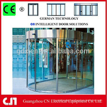 Professional Automatic Tempered Frameless Sliding Glass Door