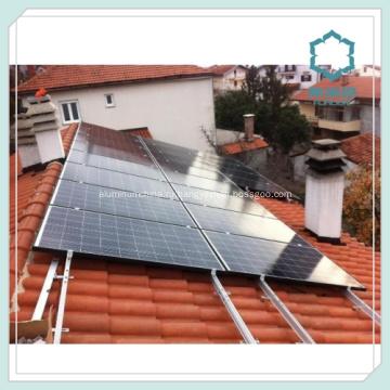 Профили алюминиевые для железнодорожных панели солнечных батарей