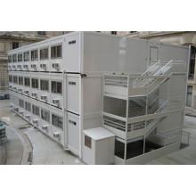Stahlkonstruktion Flat Pack Container Arbeiter Schlafsaal (KXD-CH1440)