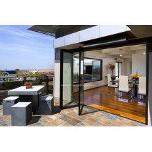 Aberturas maximizadas Portas deslizantes de portas de alumínio dobráveis Preços