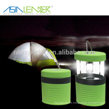 Luces de camping al aire libre profesionales LED, luces de camping operadas con pilas telescópicas al aire libre, mejores luces de camping flexibles LED