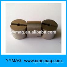 Популярный магнит Alnico с пазом для спекания