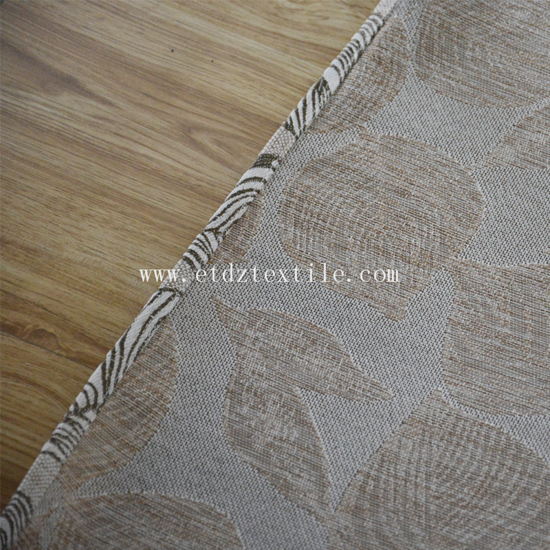 WZQ176 Taupe Color American Prefer Linen Style 100% Polyester Piece Dyed Curtain Fabric