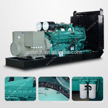 Supply Silent 800kw/1000kva diesel generator set powered by Cummins engine KTA38-G2