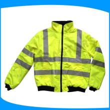 Vêtements de sécurité industrielle vêtements à haute visibilité avec ruban adhésif