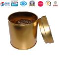 Runde Geld Münze Tin Box für Grüntee