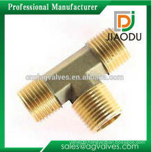 1/8'' or 1/4'' or 3/4'' or 1'' or 2'' customized good quality cw617n brass electrical conduit tee fittings for pipes
