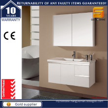 Modern Simple Style Hanging Bathroom Cabinet with Mirror Cabinet