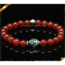 Hot Stone Bead Buddha Stretch Bracelet (CB0107)