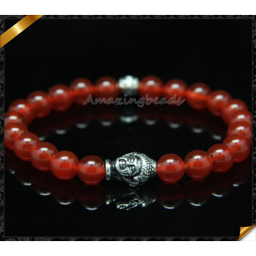 Hot Stone Bead Buddha Stretch Bracelet (CB0107)