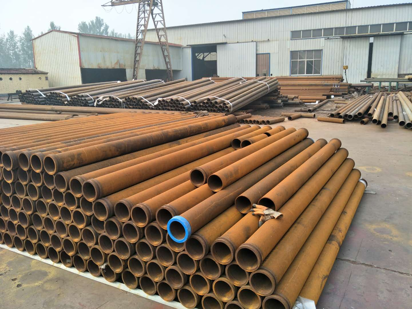 Concrete Pump Raw Material Pipe