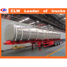 50m3 Stainless Steel Diesel Tanker Trailer 30ton Oil Tanker Trailer
