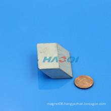 customized ndfeb Rhombus neodymium special shape magnet