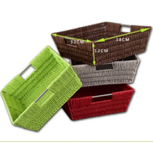 (BC-RB1001) Hot-Sell Beautiful Paper Rope Basket
