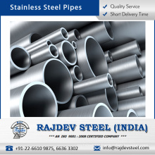 Widely Demanded Optimum Polished Stainless Steel Pipe for Various Applications