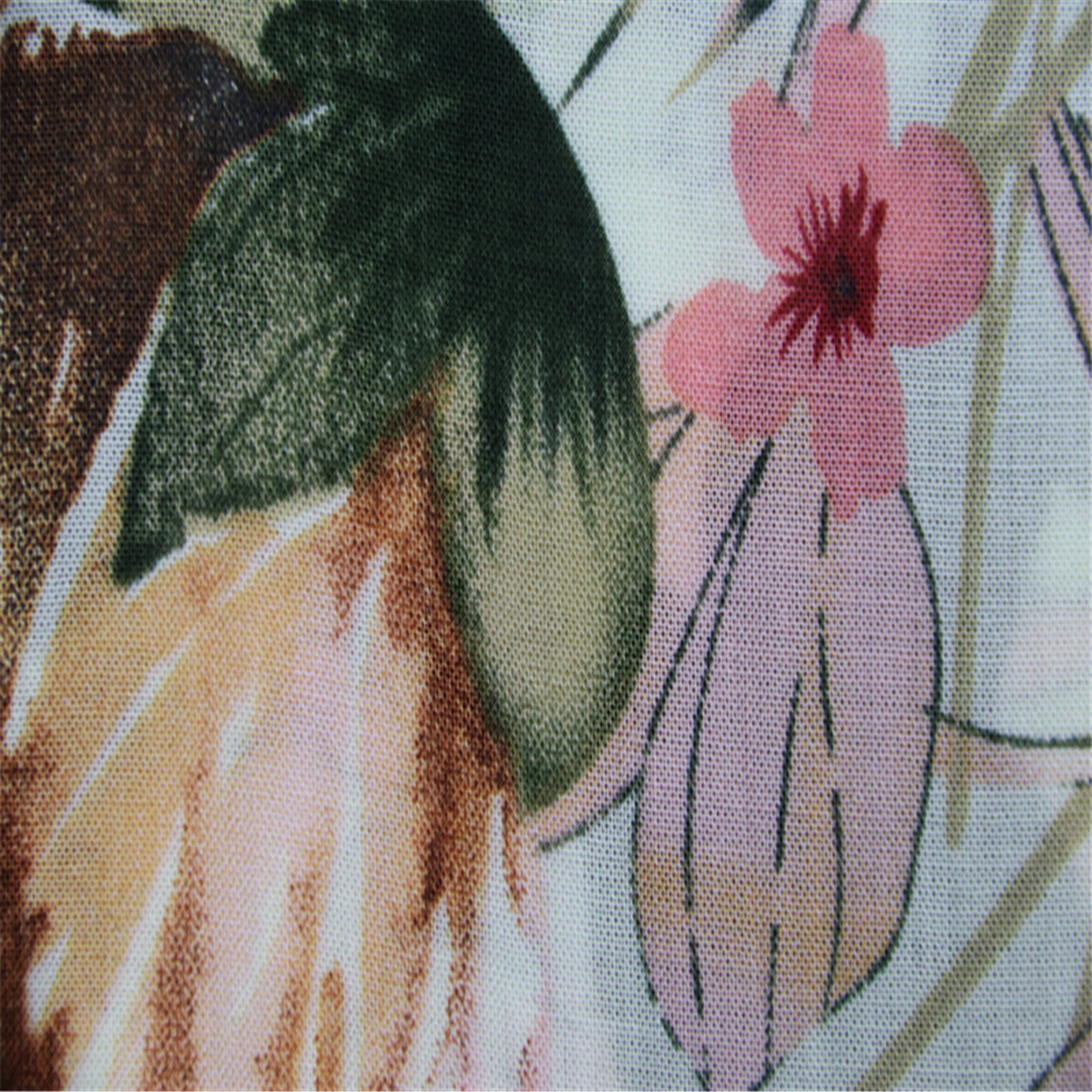 Rayon Voile Printed Fabric