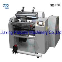 Rolo de papel de fax novo que rebita a máquina de rebobinamento