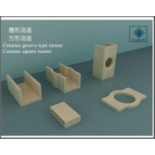 Ceramic groove type runner / square runner
