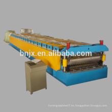 Rodillo de la capa doble que forma la máquina, rodillo de alta velocidad del panel de la pared / de la pared de la doble capa que forma la máquina