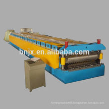 Double Layer Roll Forming Machine , High speed double layer wall/roof panel roll forming machine