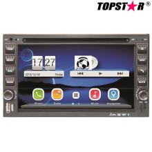 6.5inch Double DIN 2DIN Car DVD Player with Wince System Ts-2507-2