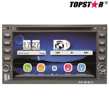 6.5inch двойной DIN 2DIN DVD-плеер автомобиля с системой вздрагивания Ts-2507-2