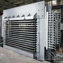 Hot press platen plywood machinery