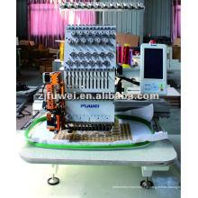 Máquina de bordar de 1 tampa com preço