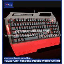 China Modelagem por injecção plástica do teclado dos produtos dos equipamentos de escritório do ABS da fábrica