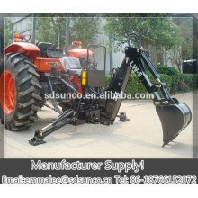 CE approved tractor twoable samll backhoe