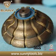 Diamant-Profil-Rad, Diamant-Werkzeuge, in Auto-Maschinen Profiling Oberfläche