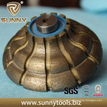 Sintered Diamond Profiling Wheel for Stone (SY-SDPW-1000)