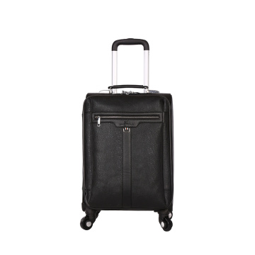 Maleta de promoción de regalo Silence Spinner wheels PU luggage