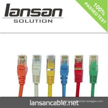LANSAN Professional High Speed cat6 utp patch cords PVC/LSOH ETL/UL/ROHS/ANATEL
