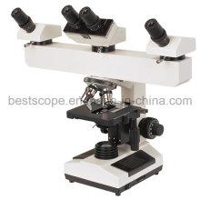 Bestscope BS-2030mh4b Multi-Head Microscope with LED Illumination