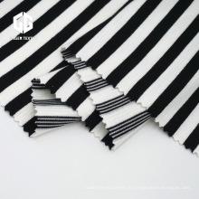 Полосатая осетровая ткань для футболки