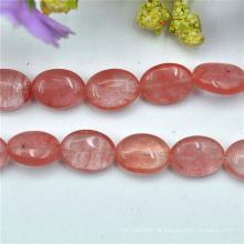 Jóia de pedra grânulos Necessories rosa da jóia do diamante rosa