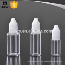 Botella líquida del dropper del líquido e del animal doméstico de 10ml 20ml 30ml