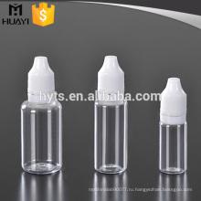 10мл 20мл 30мл пластиковые ПЭТ ясно электронной жидкости капельницы бутылки