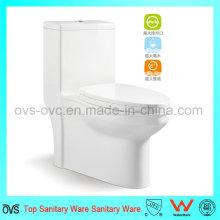 VENTA CALIENTE del tocador de cerámica de una pieza de las mercancías sanitarias para el cuarto de baño