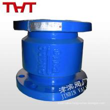 noise elimination rubber flapper spring loaded lift check valve