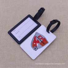 Custom 3D Soft Silicone Luggage Tag/ Rubber Bag Tag/ PVC Luggage Tag