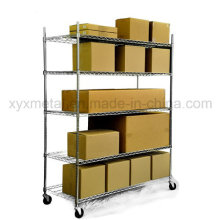 Chrom Mesh Shelf Heavy Duty Roll Rack Draht Regal