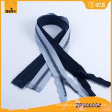 Fermeture à glissière en plastique solide Derlin pour sac fourre-tout ZP30005