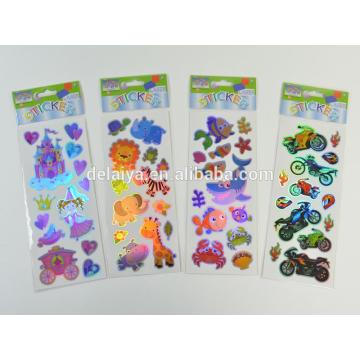 Custom Printed Self-adhesive Laser Stickers