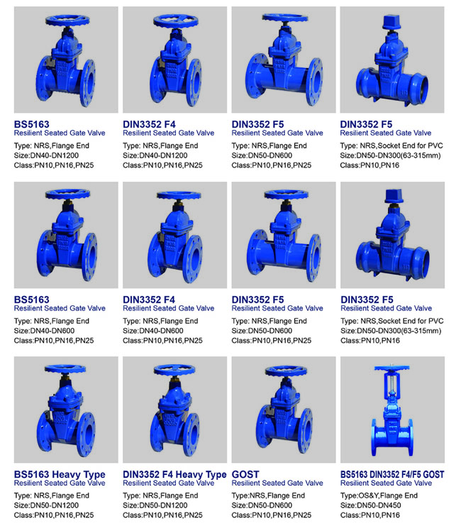 Product Range Of Valve